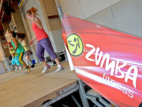 Zumba marathon 2014