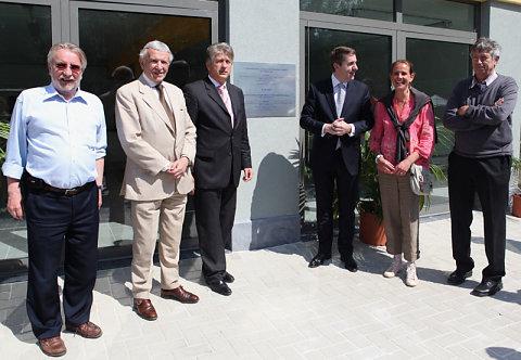 Inauguration bloc vestiaire