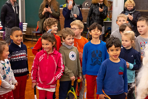 Saint-Nicolas à la Wolu Tennis Academy