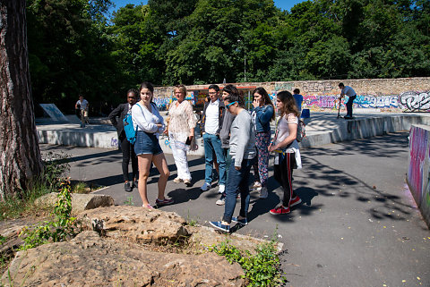 Forum de la Jeunesse de Woluwe-saint-Lambert en visite de la ville de Meudon 2019